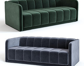 3D West Elm - Bardot Sofa