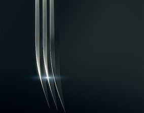 3D Wolverine Claws