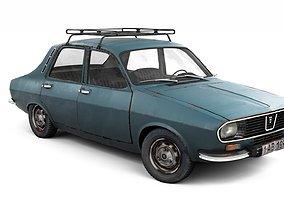 3D Rusty Dacia 1300