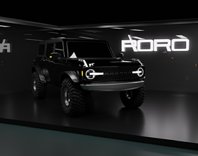 3D 2021 Ford Bronco