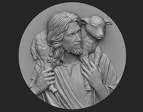 Medallion of Jesus no 3 3D printable model