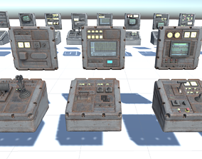 3D model Switchboard pack pro game