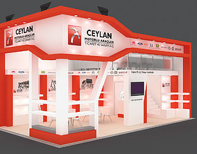 Exhibition Stand - ST0030 3D