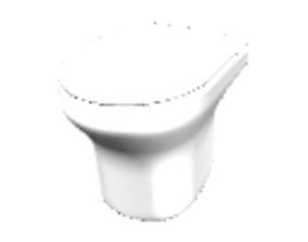 Toilet unit 3D model