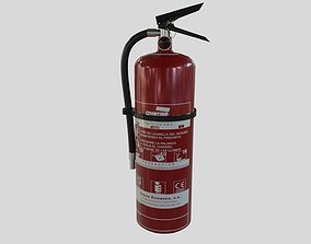 3D model Fire extinguisher - Safety and Emergency