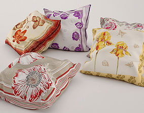 Collection of pillows 3D model