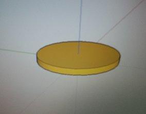 3D printable model sweet corn fritter