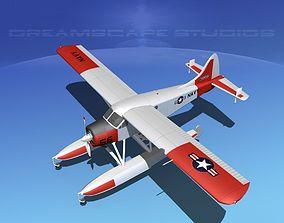 Dehavilland DHC-2 US Navy 3D