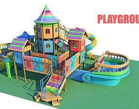 Playground Toys 3D model