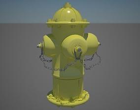 Fire Hydrant 3D asset