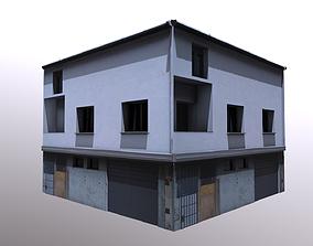 3D asset City Apartment Architectural
