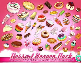Dessert Heaven Pack 3D model