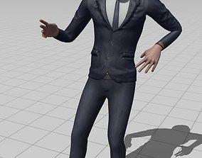 3D laptop Character