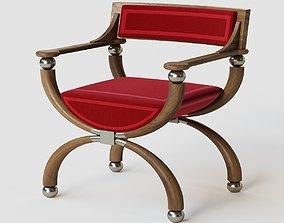 Curule Chair 3D model