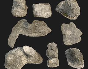 rauk stone collection 3D