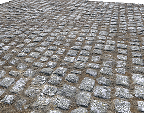 Cobblestone Road 7 PBR 3D
