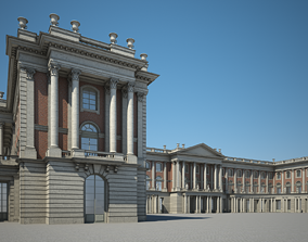 classical 3D model Palace