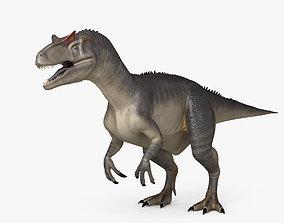 Allosaurus HD photorealistic 3D model