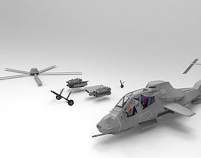 RAH 66 grey 3D Printed
