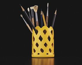 pencil container 3D printable model