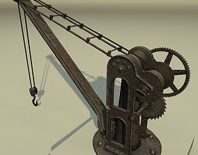 Old Port Crane 3D