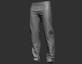 Zbrush Pants 02 3D model