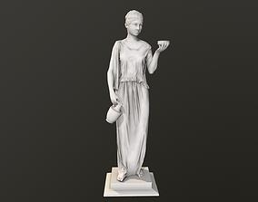 Statue Sculpture of Ancient Greece 3D model