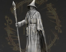 Gandalf the Lord of the Rings Hobbit 3D printing ready 2
