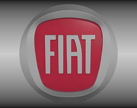 Fiat logo 3D model