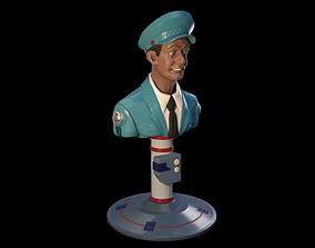 3D print model Total Recall Johnny Cab