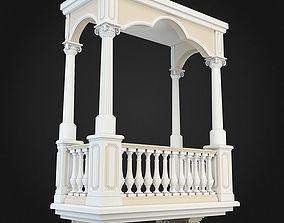 garden 3D Balcony