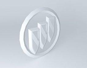 3D model Buick Logo
