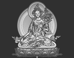 cnc 3D print model Tibetan Buddha