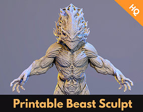 Beast Printable 3d Sculpt Monster