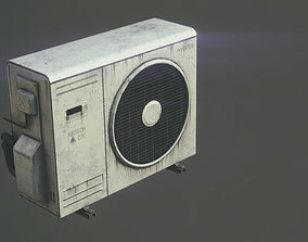 3D asset realtime PBR AIR CONDITIONER