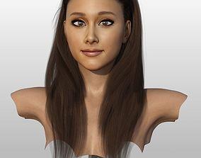 3D model Ariana Grande Bust