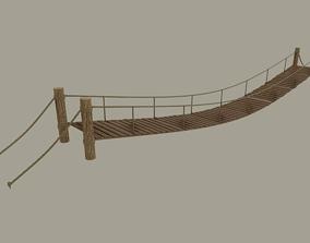 Rope Bridge 3D cross