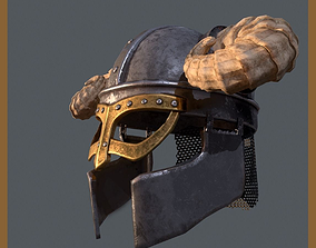 3D model Viking Helm by Lordische