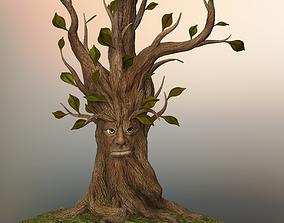 Tree face fabulous 3D model