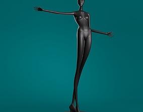 Mannequin 605 coll60 3D model