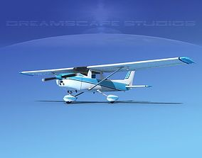 3D Cessna 150 Commuter V07
