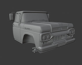 3D model Cabin Ford f