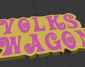 Volkswagon - Pulp Fiction style 3D print model