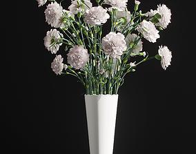 Cornation bouquet 3D