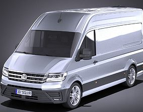 3D model Volkswagen Crafter 2018 VRAY
