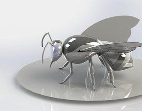 Realistic Bee Model animated