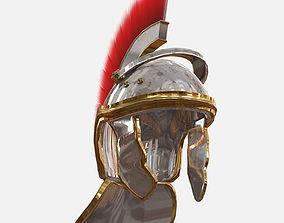 3D asset Low Poly PBR Centurion Helmet