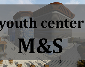 youth center 3D animated