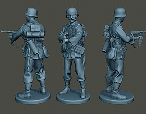 German soldier ww2 Shoot middle G2 3D print model