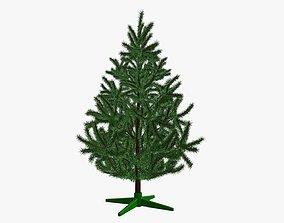 Fir tree artificial 02 3D